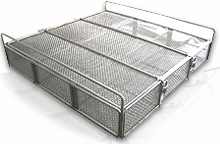 Food processing basket