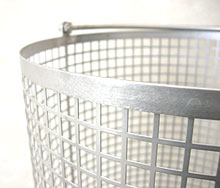 Cylinder style washing basket