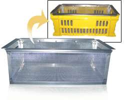 Separation/conveyance basket