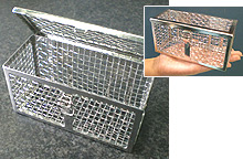 Small part washing basket