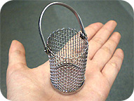 Microminiature column basket
