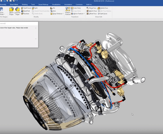 3D CAD データ